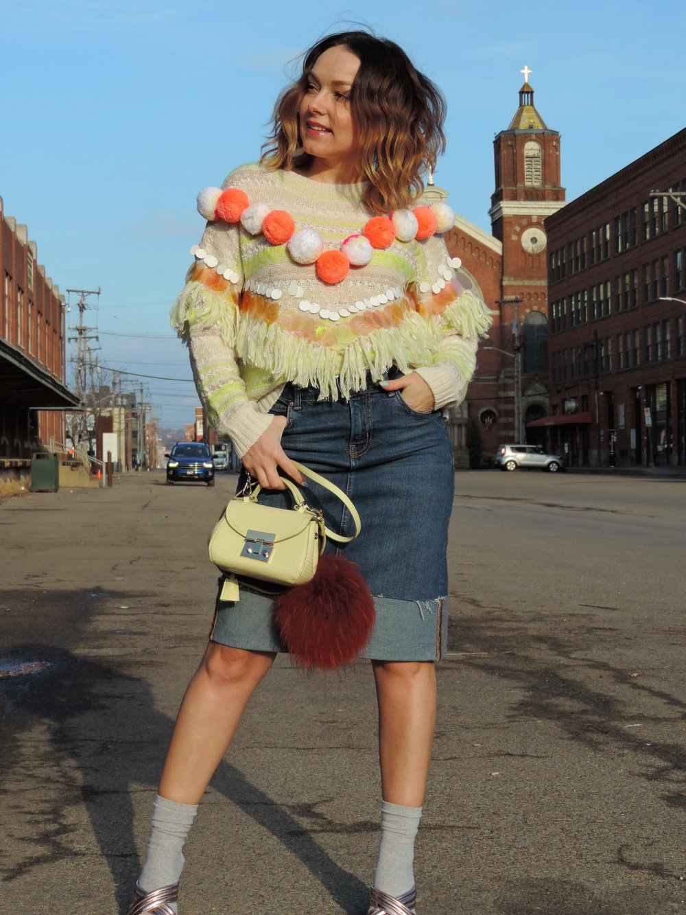 how to style mules with socks