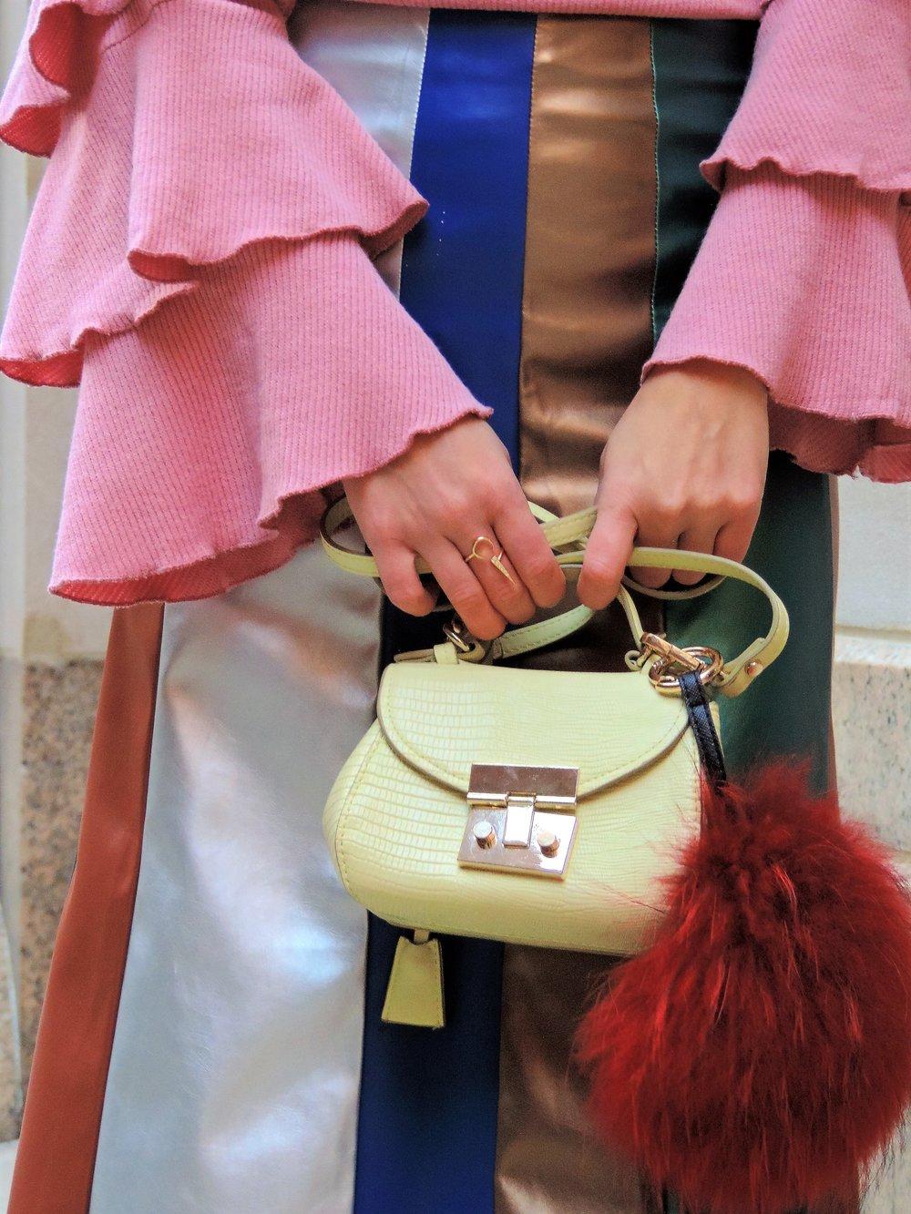 Fendi bag charms