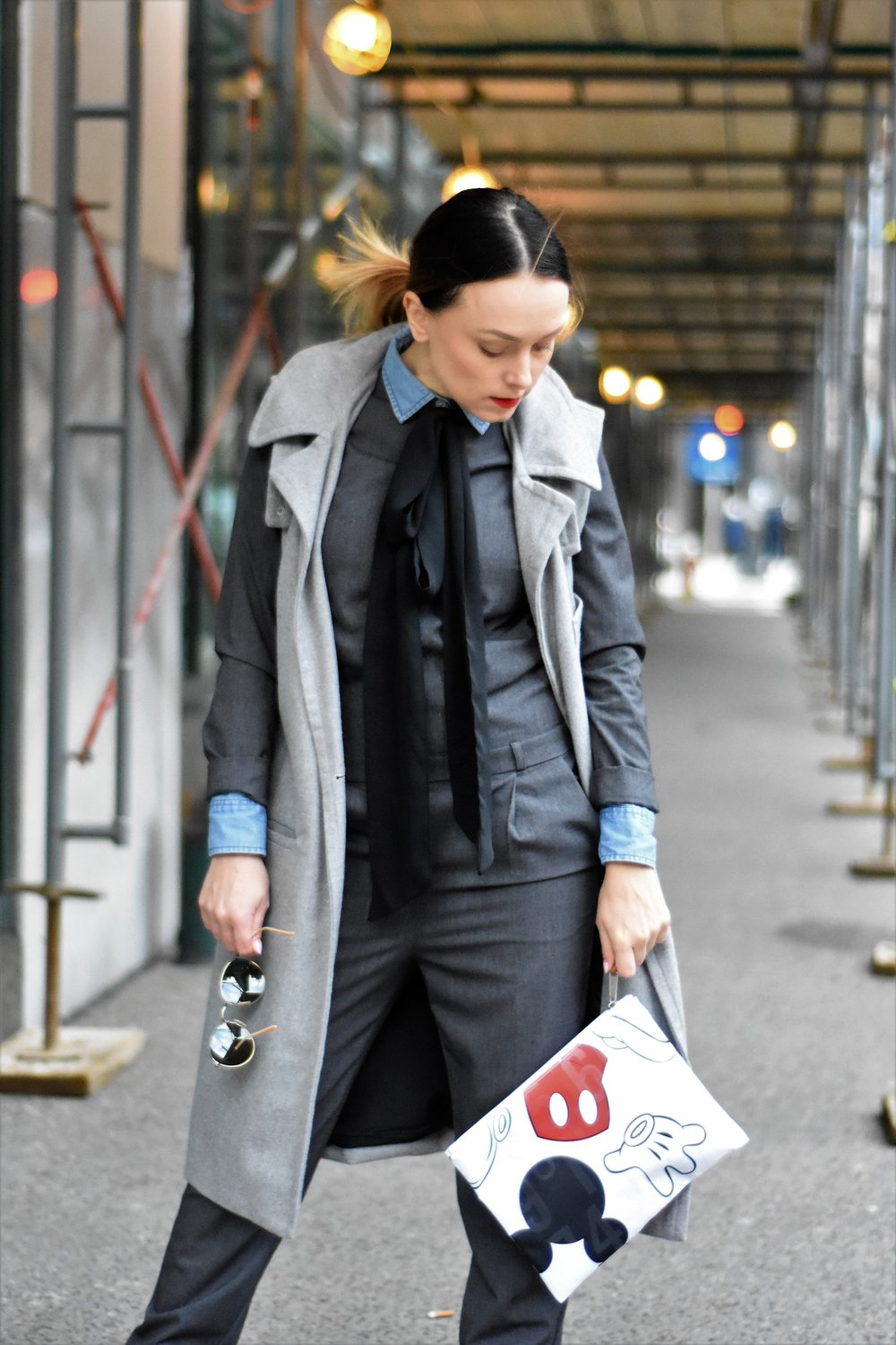 business casual street style