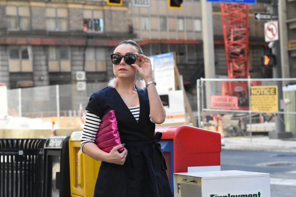 Pittsburgh fashion blogger Anna Maleeva