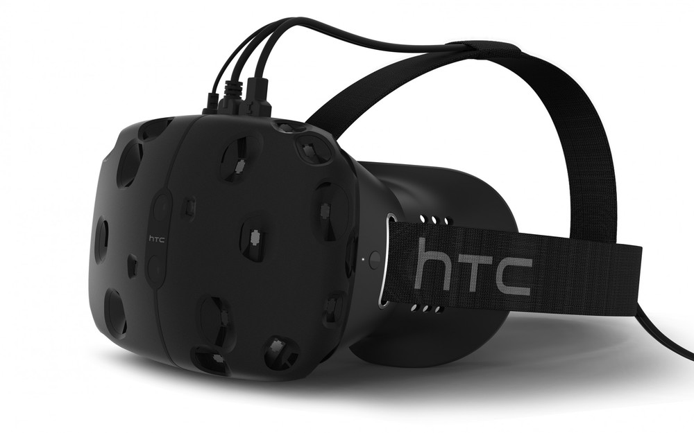 HTC Vive, hardware created as a joint venture between HTC and Valve.