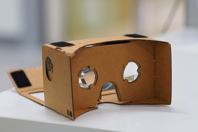 Google Cardboard Photo by otheree / CC BY