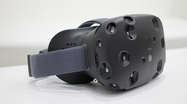 HTC Vive Photo by Maruizio Pesce / CC BY