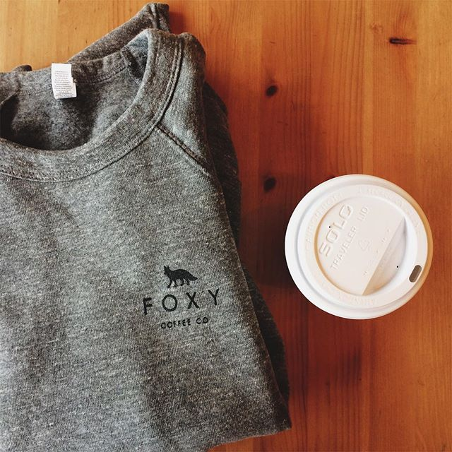 Need last minute Christmas gifts? We got these dope sweatshirts & t-shirts if you need them (let's be real, you need them). Cruise into shop & score one or two. Coming online soon. #shopsmall #foxycoffeeco #damngoodcoffee #merchisthebest #iveseriouslywornminethelastthreeorfourdaysnonstop #itssofluffy