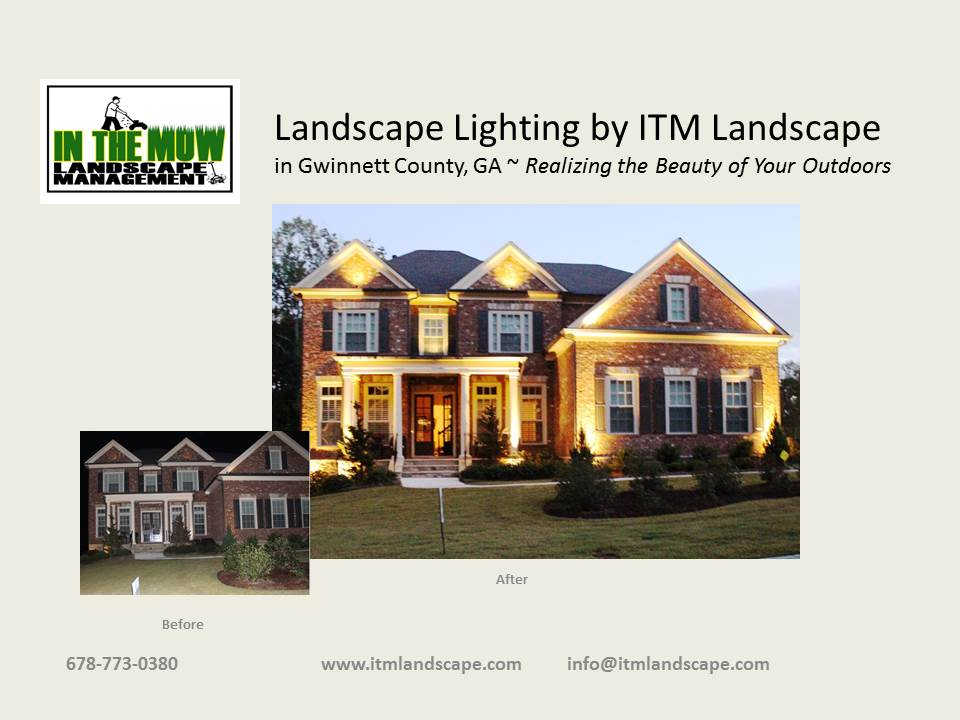 Landscape Lighting by ITM Landscape in Gwinnett County