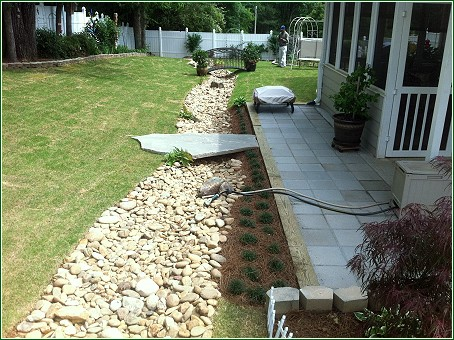 Drainage problems outdoors can create huge problems indoors when flooding,  leakage, or runoff occurs. ITM Landscape Management is experienced in  assessing ... - Gwinnett Drainage Solutions — ITM Landscape