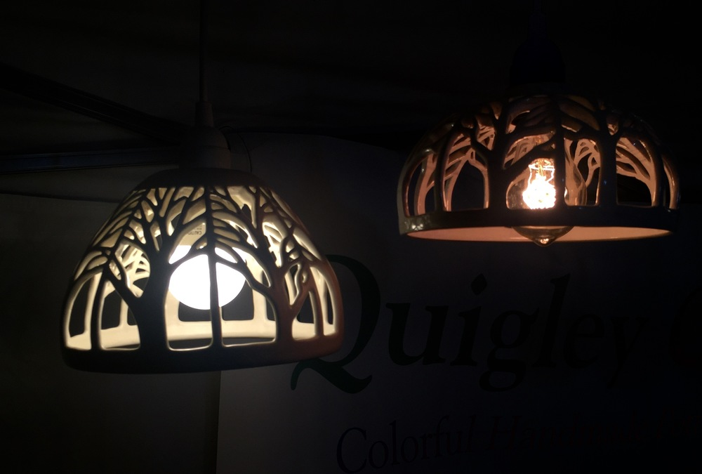 Displayed by new pendant lamps for the first time!