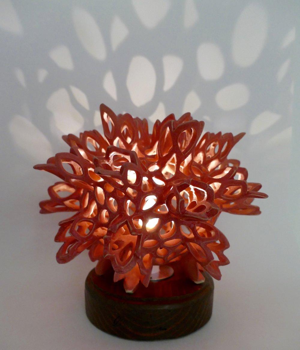 Colab Lamp with NMR Ceramics