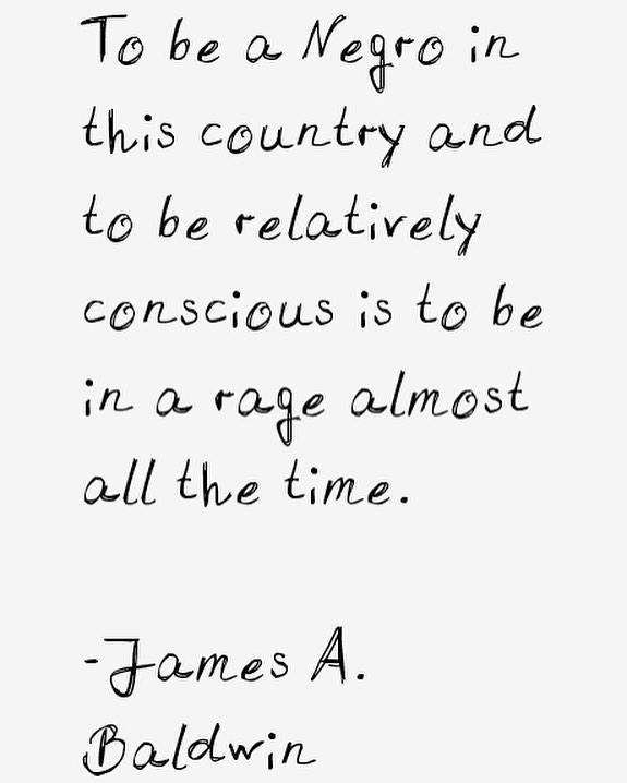 ✊🏽✊🏾✊🏿 • • • • #jamesbaldwin #consciousness #thisisamerica #happeningnow #solomagic