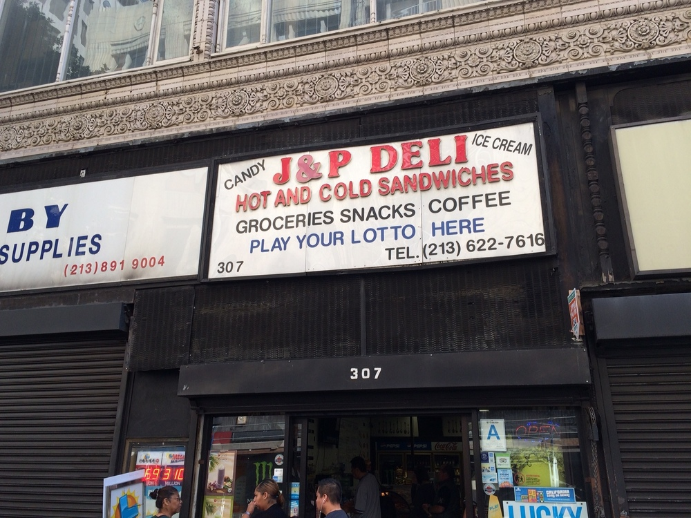 Welcome to J&P Deli, 6th St.'s hidden hangover haven. Photo by Dan Johnson.