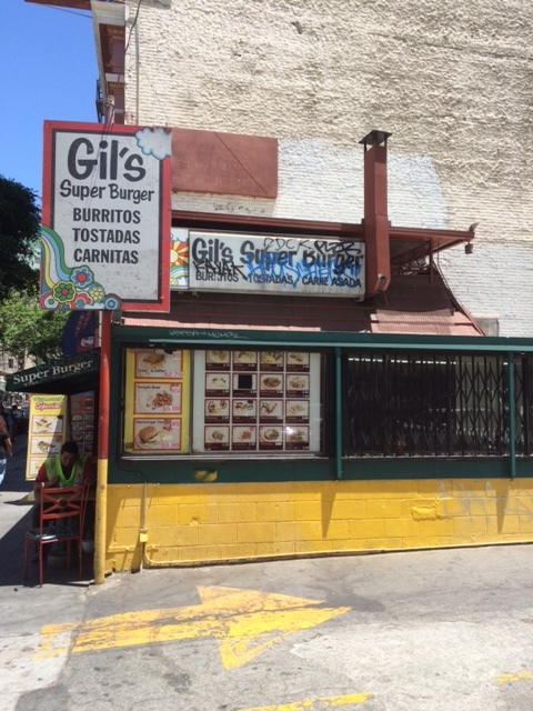 "Gil's on Hill St, textbook example of the ""Pan-Pacific Blue Collar Fusion"" genre of food establishments. Photo by Dan Johnson."