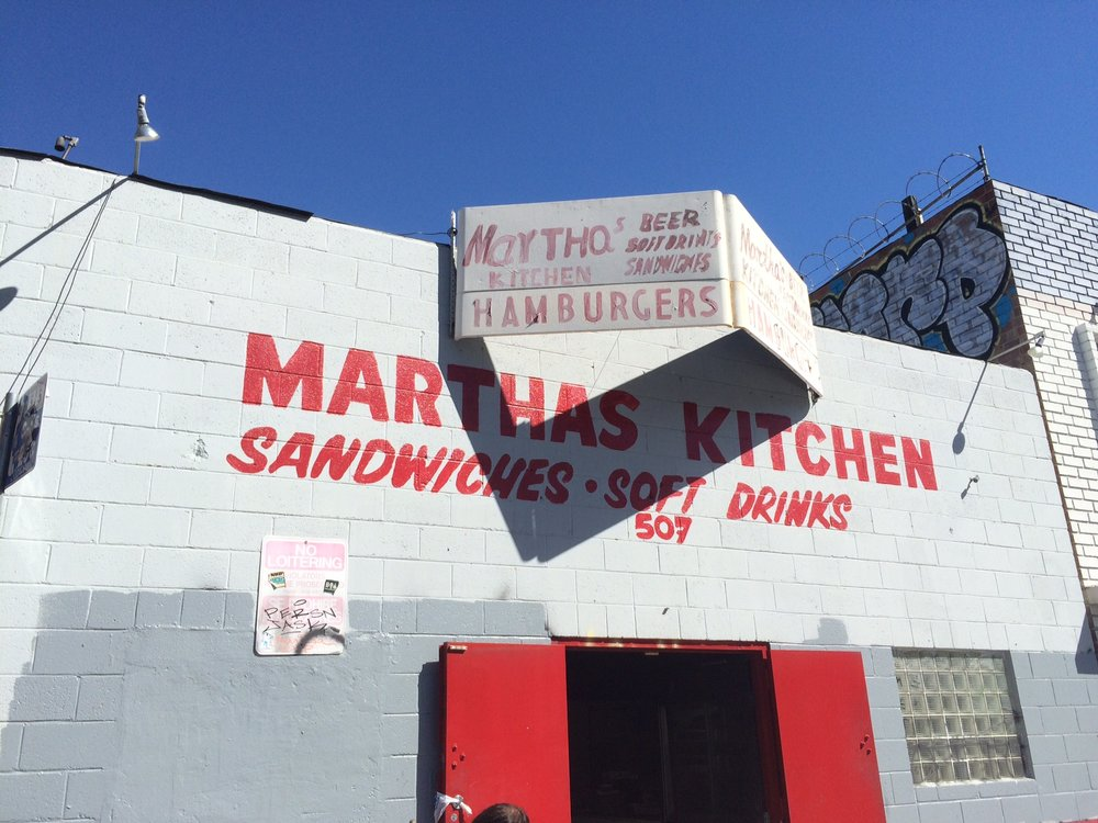 You can't see what's going on inside Martha's unless you go inside Martha's. Photo by Dan Johnson.