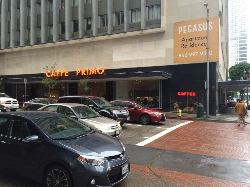 Caffe Primo is the prime eatery for the author's useless douche bag neighbors who are contributing to Downtown's downfall. Photo by Dan Johnson.