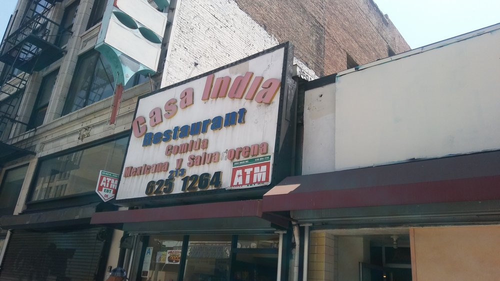 Casa India on Broadway came highly recommended to the author. His experience was...noteworthy. Photo by Dan Johnson.