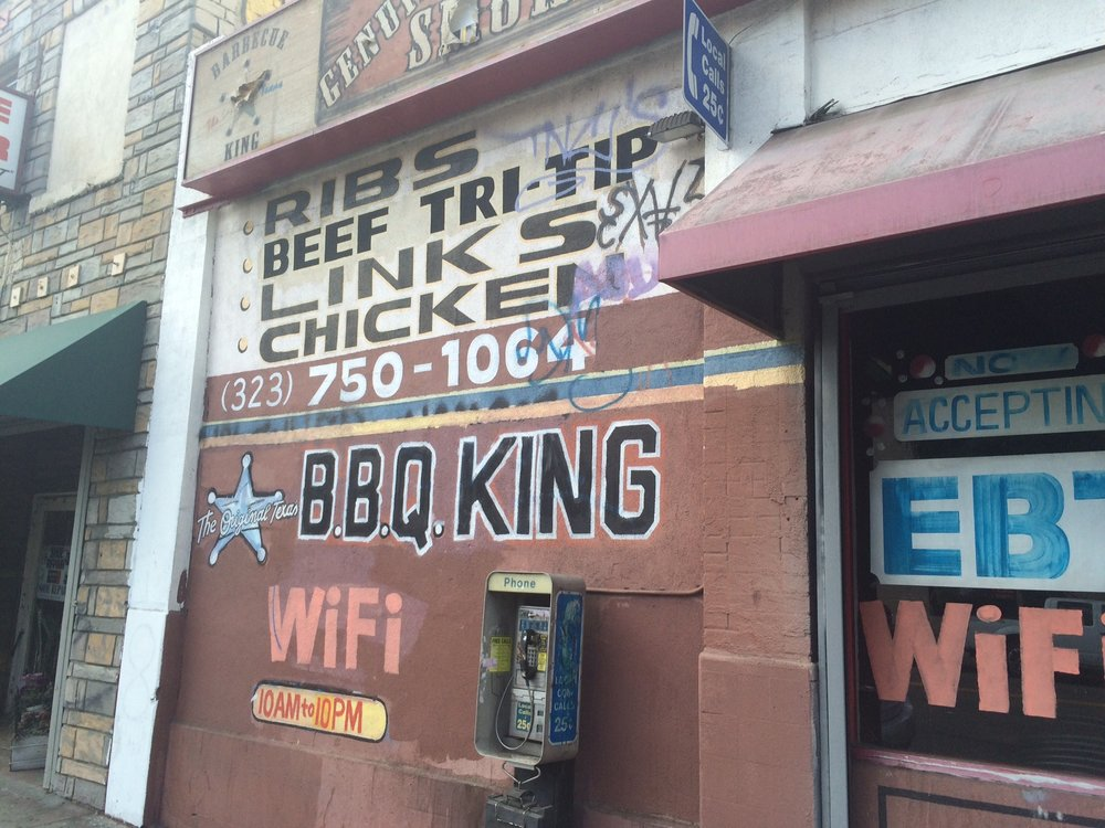 BBQ King just wasn't meant for Downtown. Or maybe Downtown wasn't meant for BBQ King. Photo by Dan Johnson.