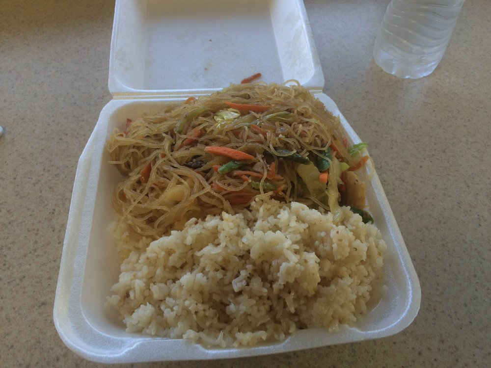 "The chop suey is indicative of the ""mélange"" at Asian Fast Food & Grocery: the chop suey tastes more like the winding road of history than chop suey, and it's delicious. Photo by Dan Johnson."