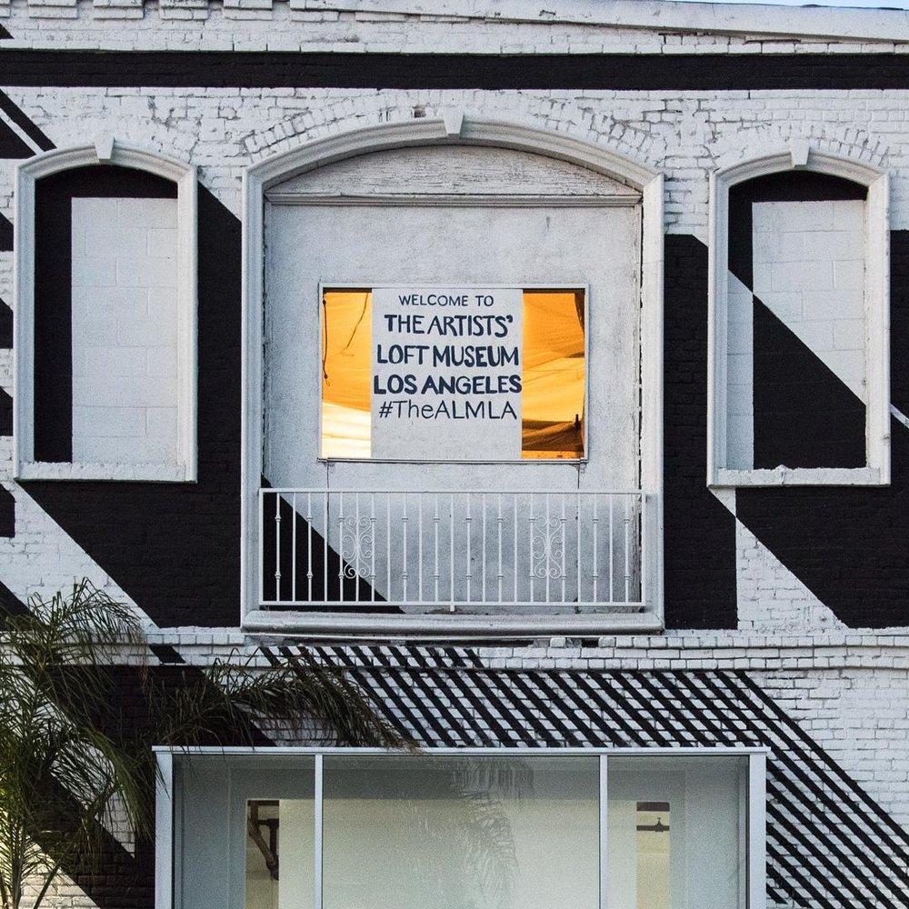 The Artist's Loft Museum Los Angeles in the Arts District. (Image via  ALMLA )