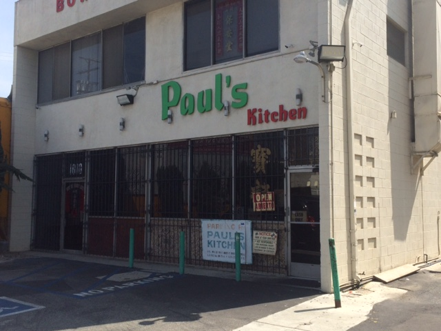 Paul's Kitchen is an LA relic that is worth paying more than $8.72 for. Photo by Dan Johnson.