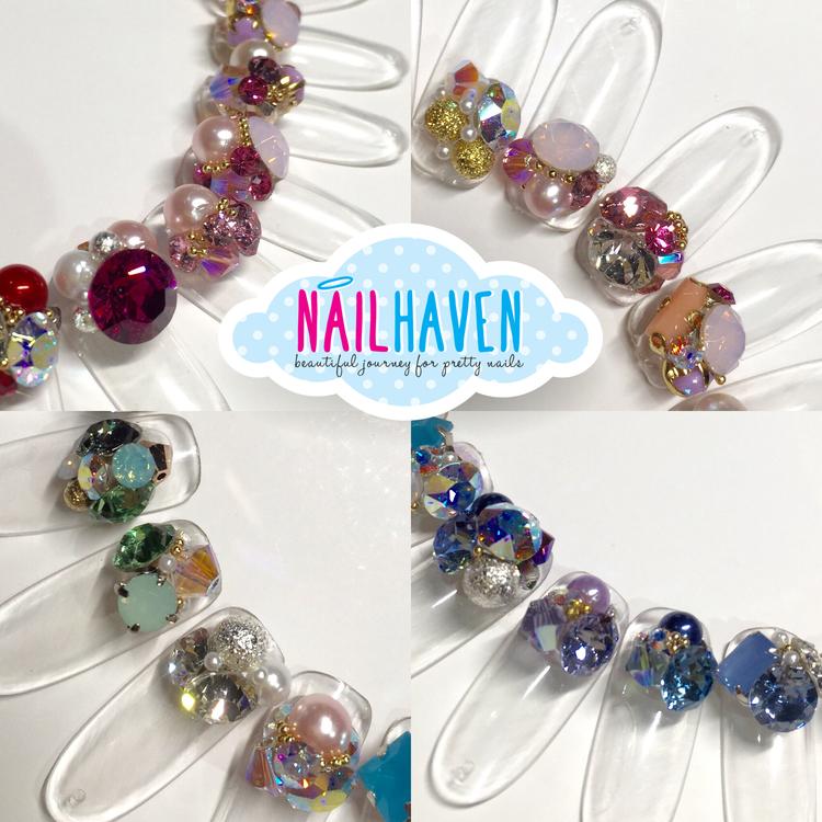Swarovski Crystal Clusters — Nail Haven