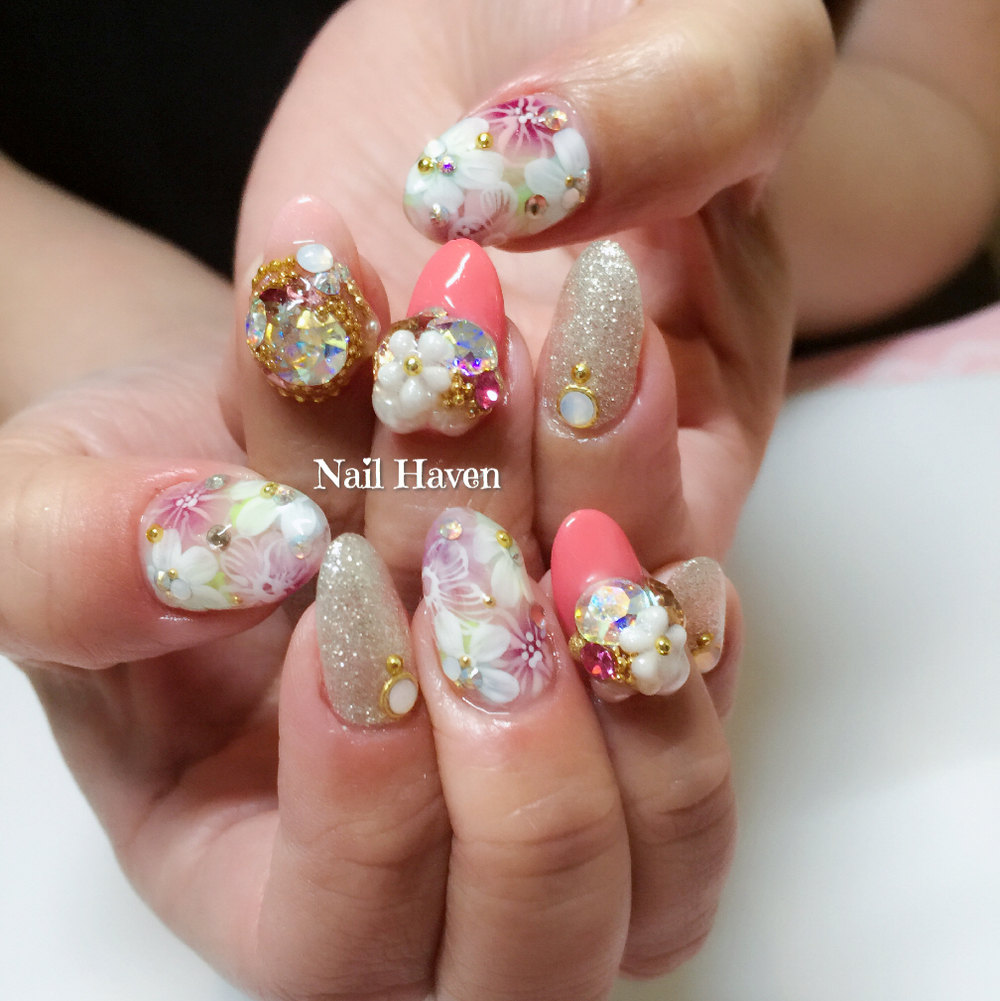 So matching with Japanese abstract florals!