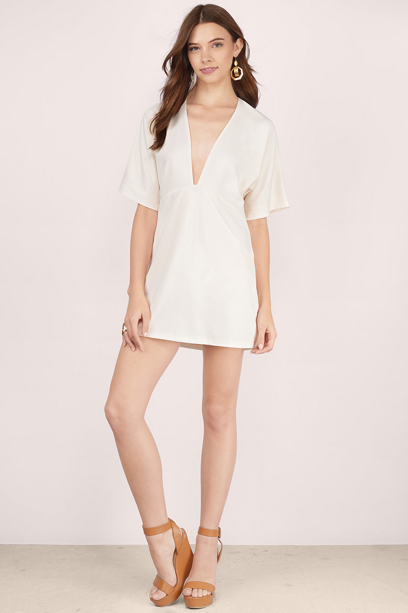 Good Life Plunging Shift Dress-3.jpg