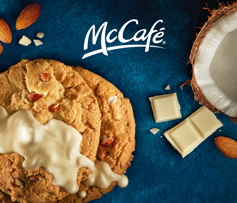 shot for McCafe, indoor