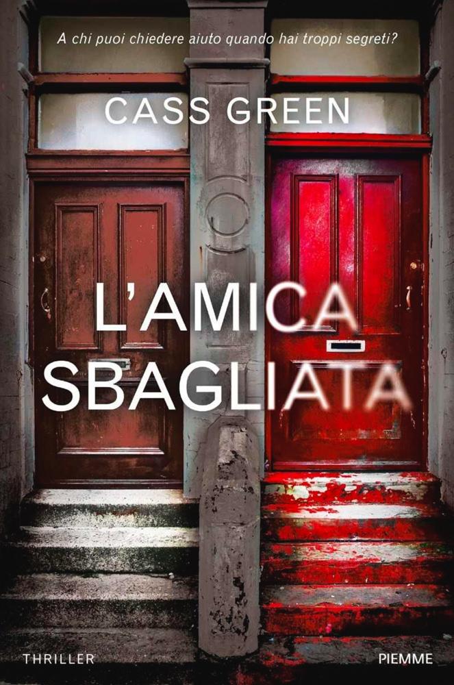 BOOK COVER - L'Amica Sbagliata by Cass Green