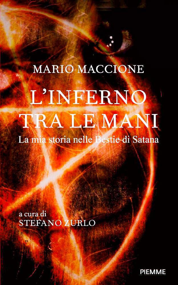 BOOK COVER - L'Inferno Tra Le Mani by Mario Maccione