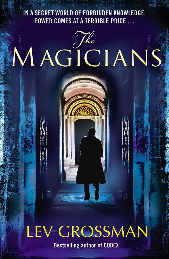 BOOK COVER - The Magicians by Lev Grossman