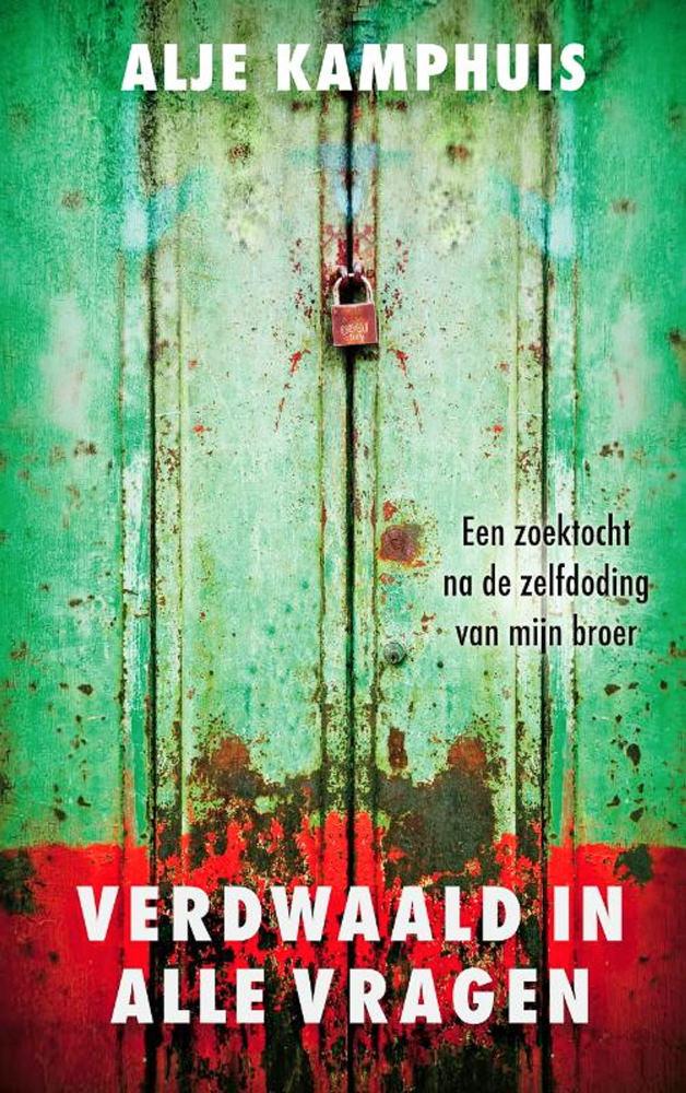 BOOK COVER -  Verdwaald in alle vragenby Alje Kamphuis