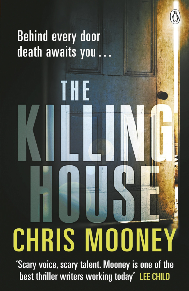 BOOK COVER - The Killing House by Chris Mooney