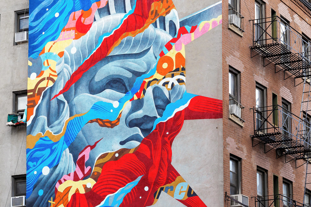 graffiti street art - New York