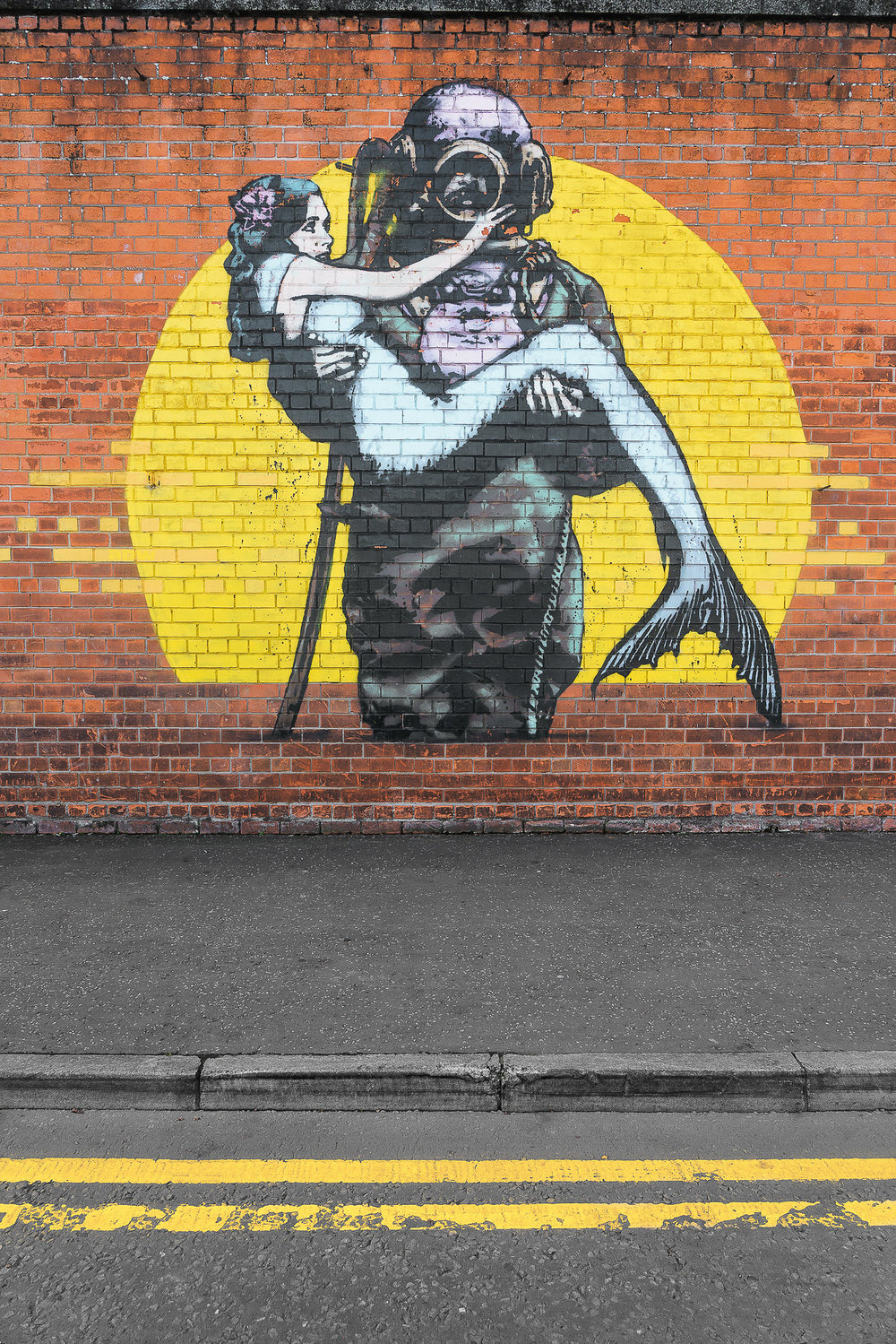 graffiti street art - Belfast Northern Island