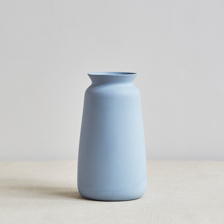 Swedish House At Homevera Vase By Sue Pryke Duck Egg Blue Swedish
