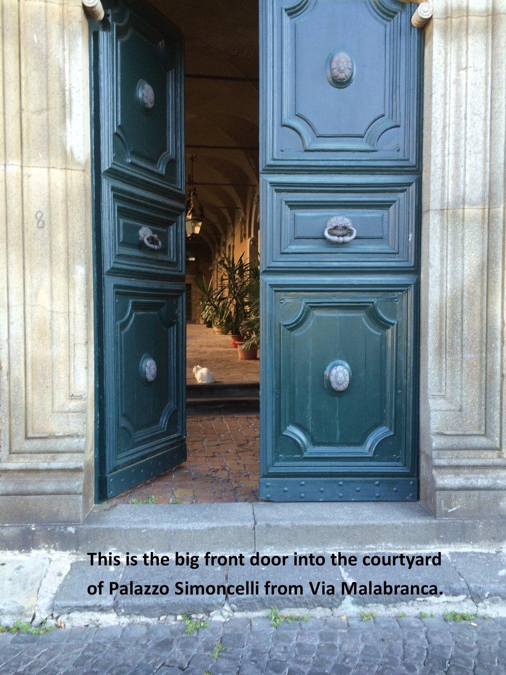 #2 Front door or Portone.JPG