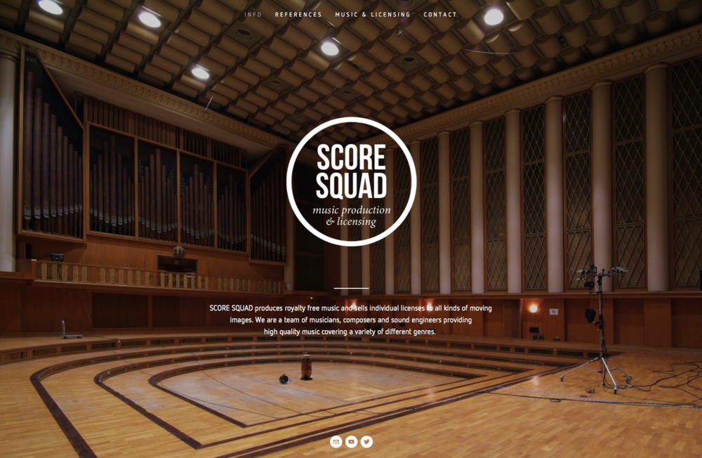 SCORE SQUAD Website