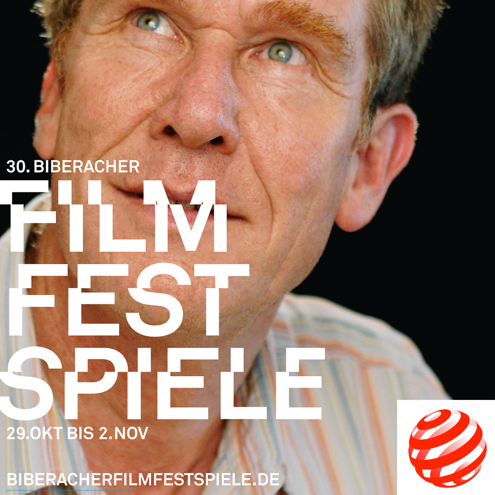 Plakatmotiv der 30. Biberacher Filmfestspiele