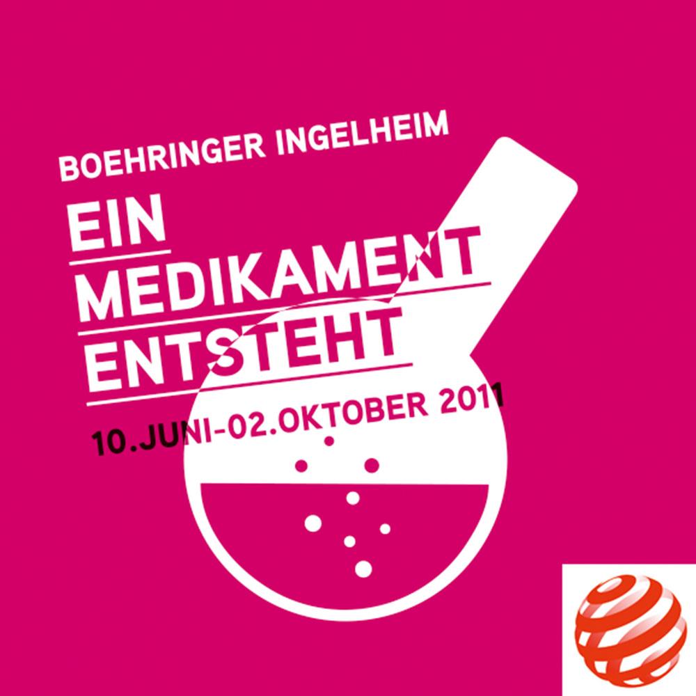 """Plakatmotiv zur Ausstellung """"Ein Medikament entsteht"""""""