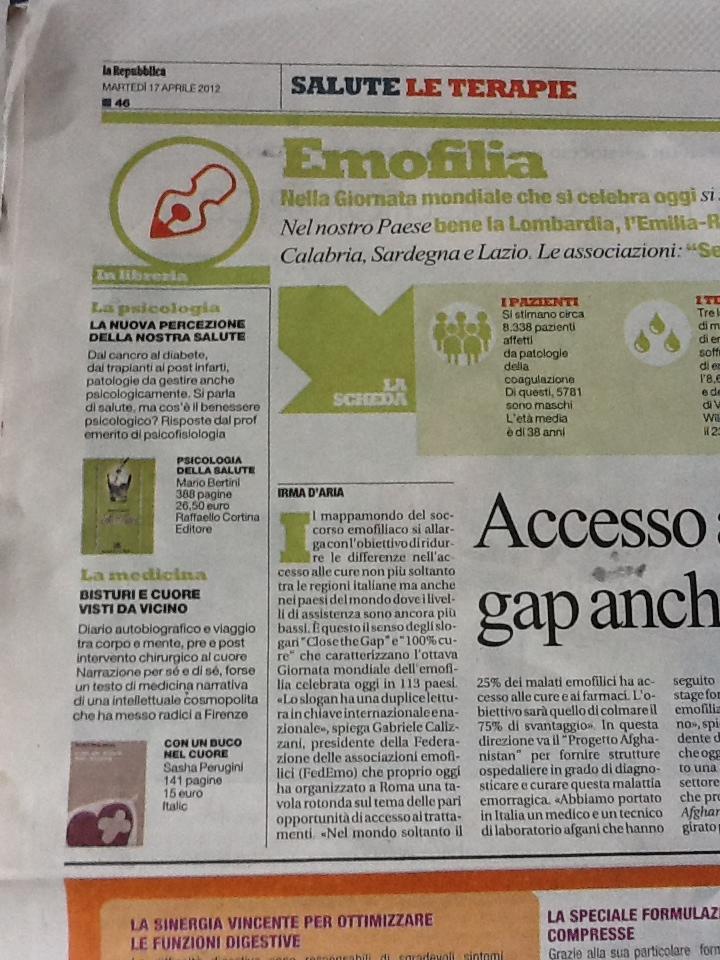 "Da ""Repubblica salute"", 17 aprile 2012"