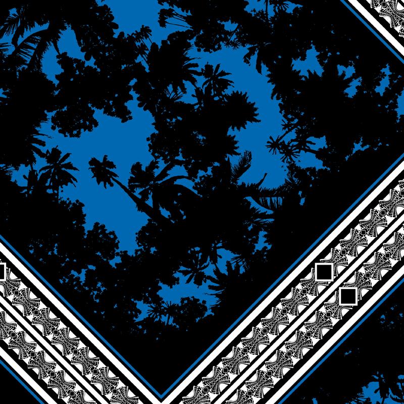 Fiji Time  tropical scarf fashion print | SOLD OneTeaspoon