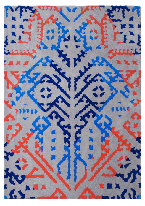 Jasmina patriot tufted wool rug
