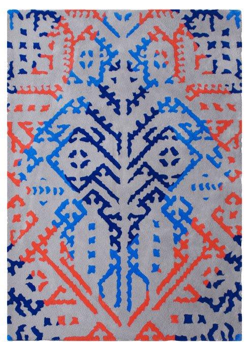 Jasmina patriot tufted wool rug