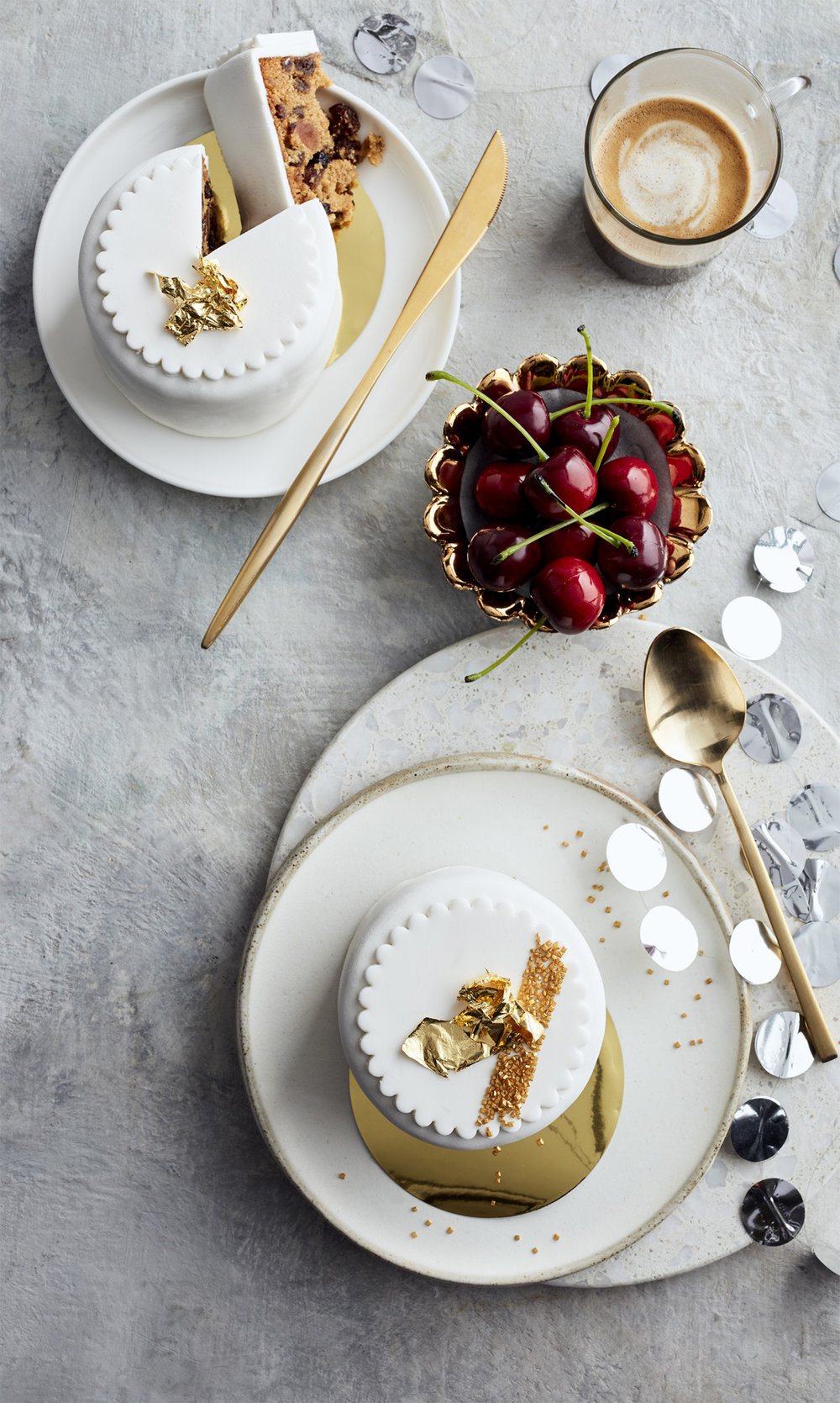 festive feasting little pinapple cakes