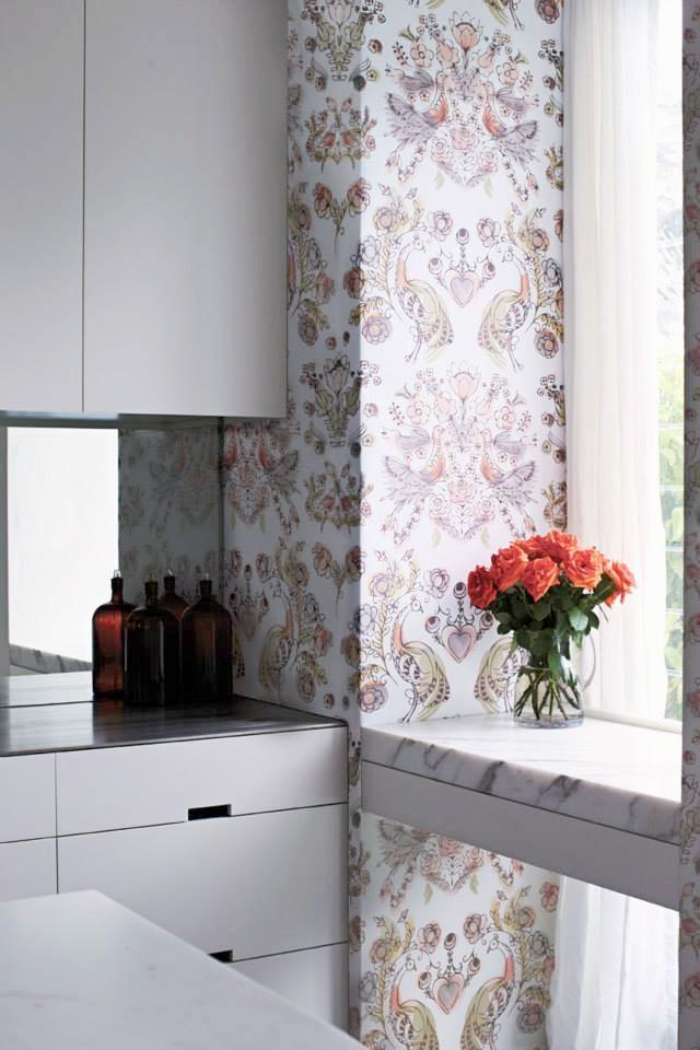 Eden allover wallpaper