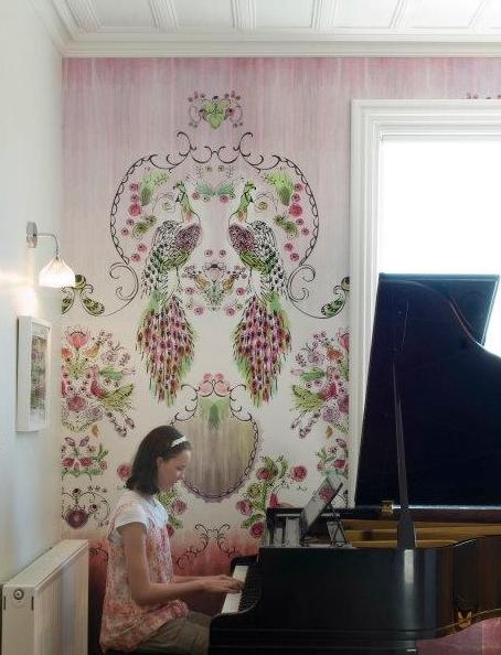 Eden wallpaper panel