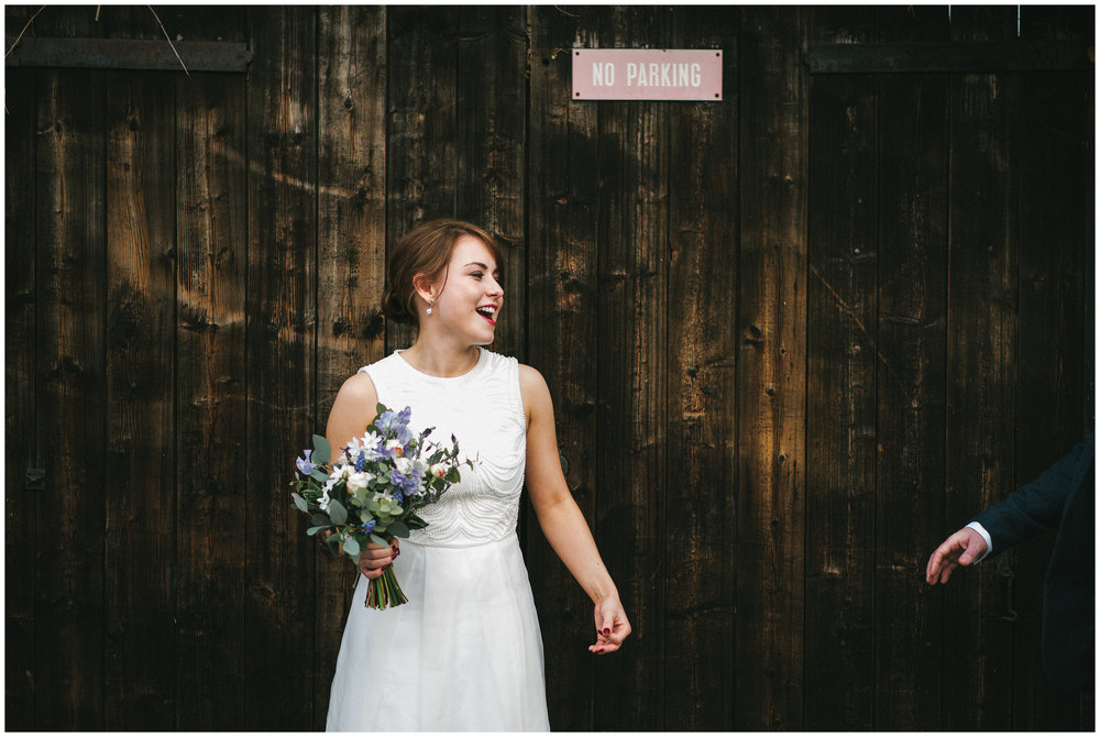 Alternative Wedding Photographer North London Pub Wedding