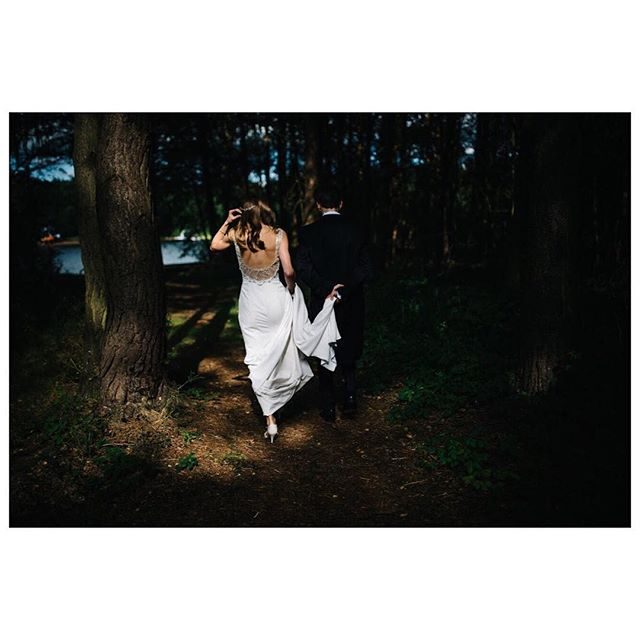 When the light hits the bride just right! Rachel + James.