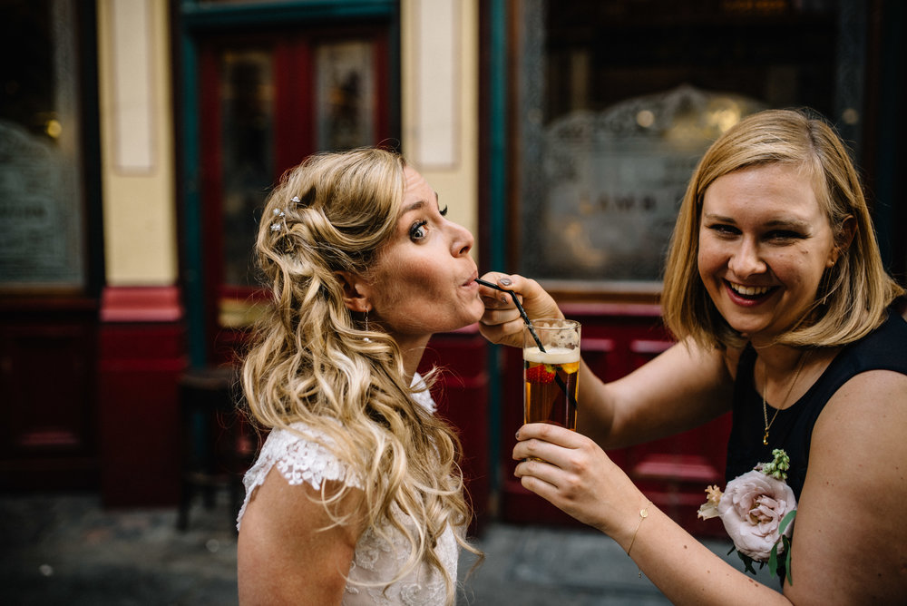 London Alternative Wedding Photographer the Lamb Leadenhall Market-62.jpg