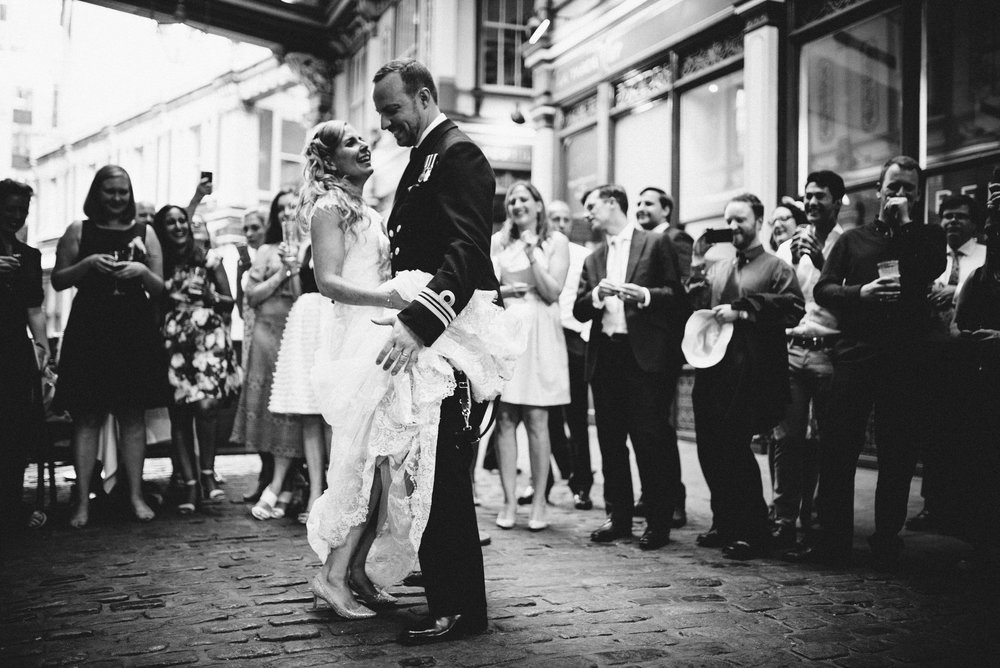 London Alternative Wedding Photographer the Lamb Leadenhall Market-75.jpg