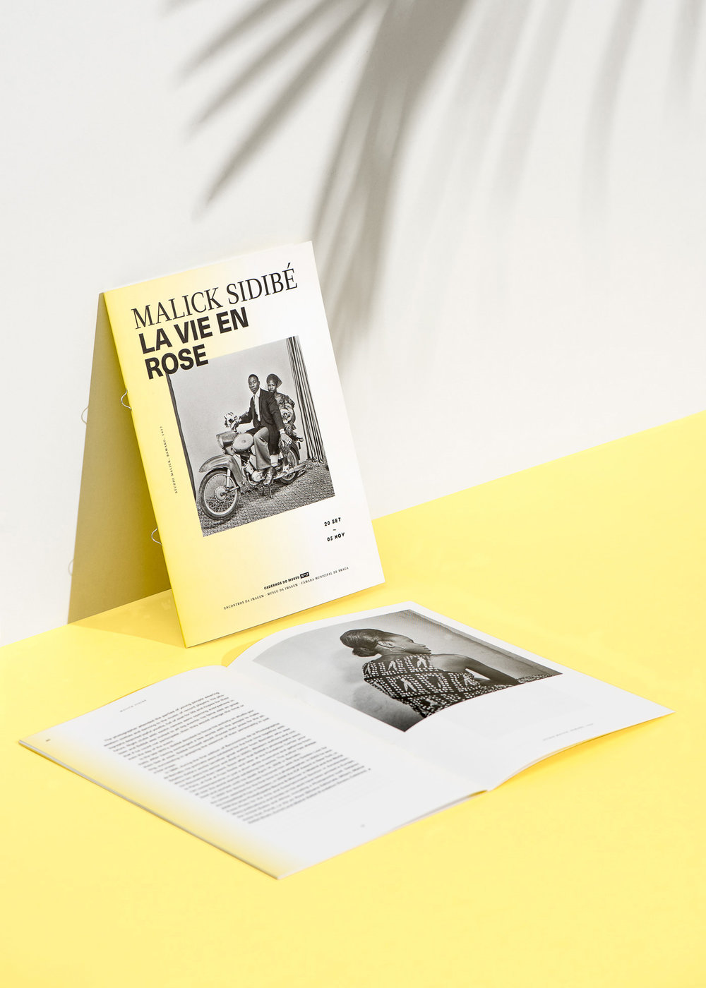 Encontros da Imagem 2016 Malick Sidibé exhibition booklet by Gen Design Studio